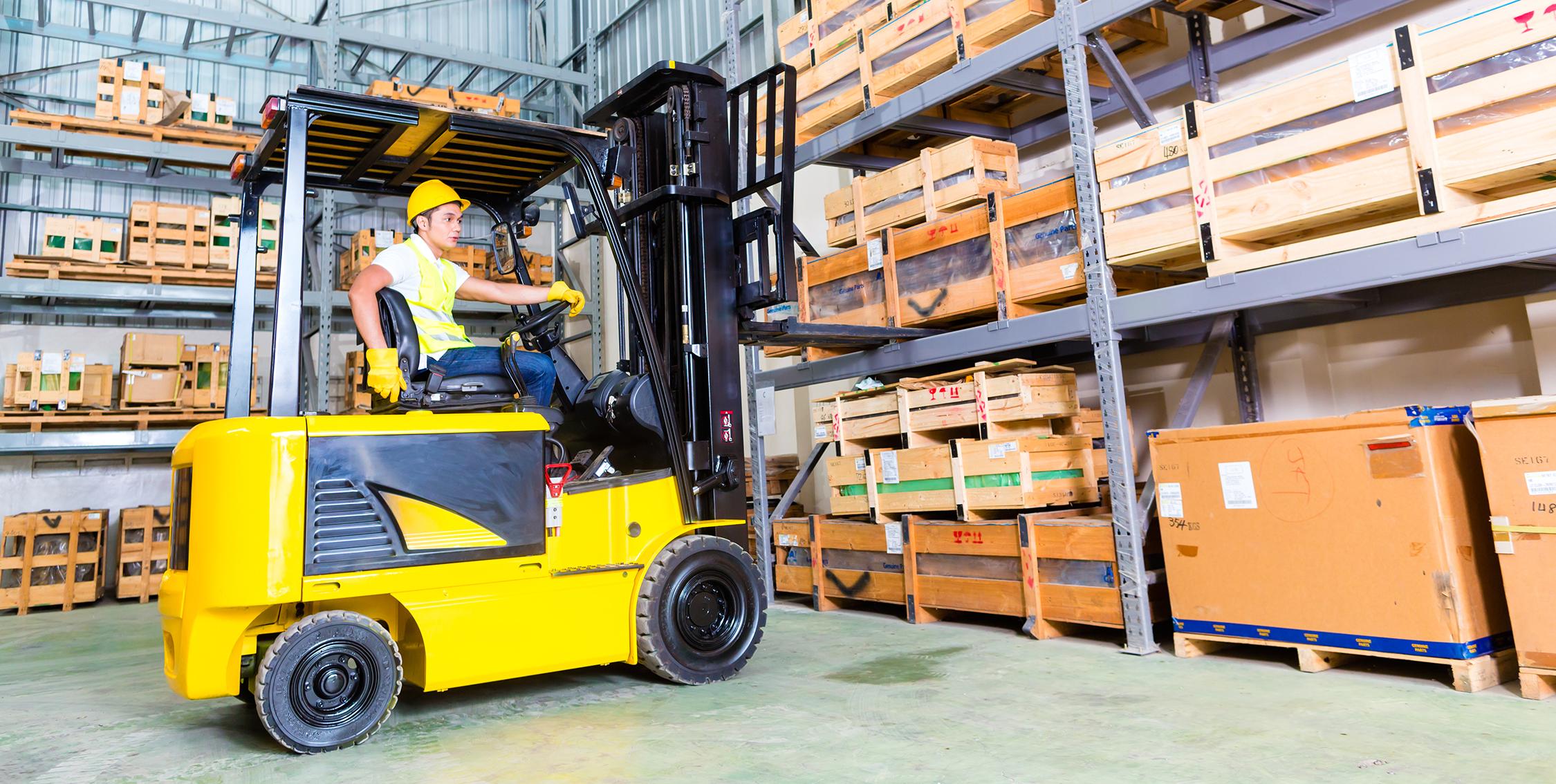 Novice Forklift Training | Think Safety | Cavan